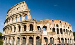 roman colosseum - rome, italy