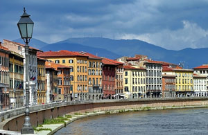 Florence, Italy - along the Arno River