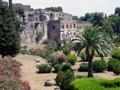 city of pompeii - roman ruins