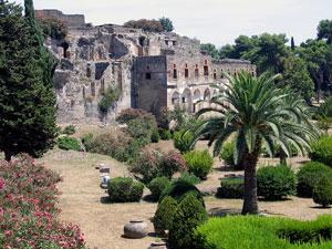 city of pompeii - roman ruins
