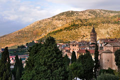 Tivoli is located in the Apennine Mountains of Italy